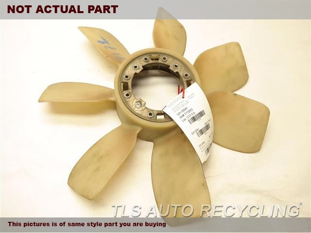 2004 Toyota Land Cruiser Fan Blade. FAN BLADE 16361-50040