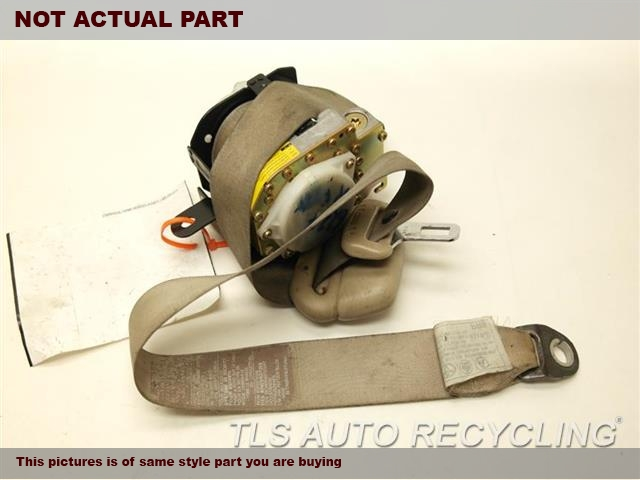 2000 Toyota Land Cruiser Seat Belt front. (BUCKET), PASSENGER, RETRACTOR