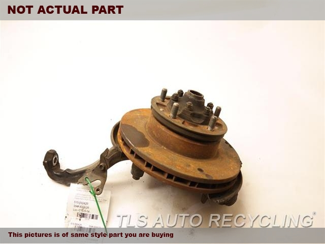 2001 Lexus LX 470 Spindle Knuckle, Fr. W/ BRAKE ROTORRH,KNUCKLE W/HUB 43201-60020