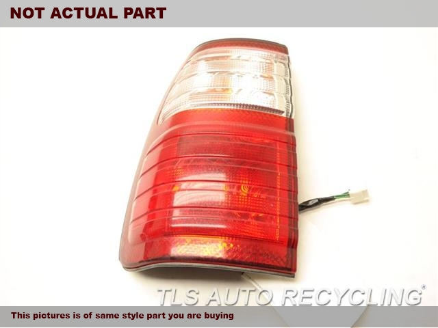 2001 Lexus LX 470 Tail Lamp. SCUFFEDLH,QUARTER PANEL MOUNTED, L.