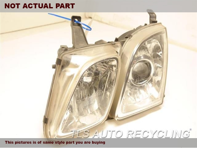 2001 Lexus LX 470 Headlamp Assembly. LH