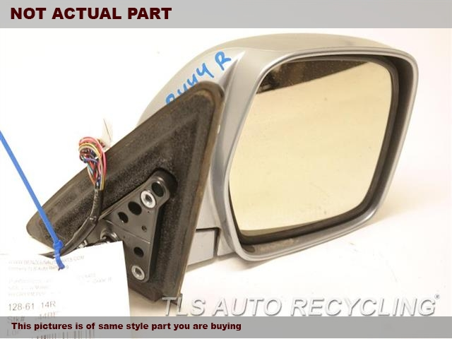 2001 Lexus LX 470 Side View Mirror. SCUFFEDRH,TAN,POWER, R.