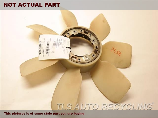 2001 Lexus LX 470 Fan Blade. BELT DRIVEN (RADIATOR)