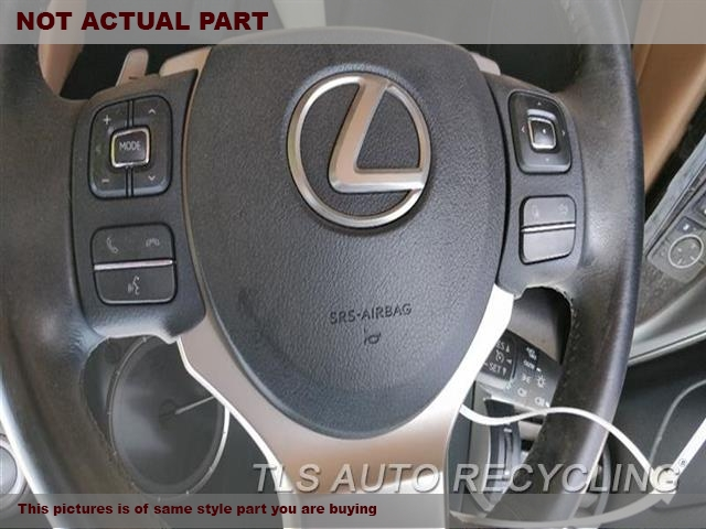 2014 Lexus IS 250 Air Bag. LH,SDN, DRIVER, WHEEL