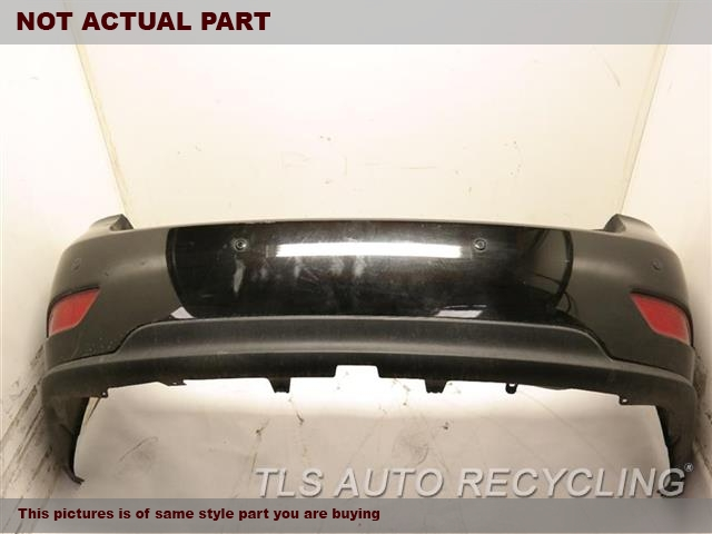 2011 Lexus RX 450H Bumper cover rear  . 000,BLK,REAR PARK ASSIST