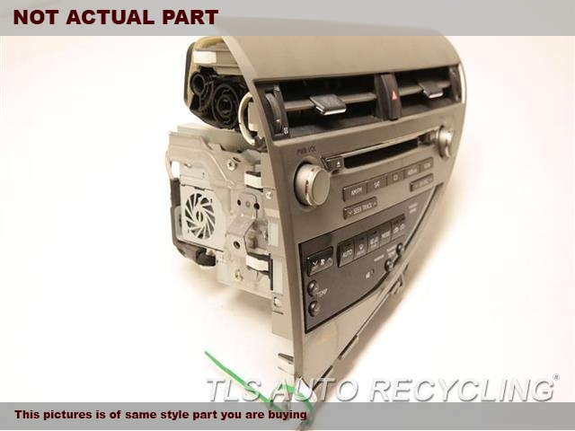 2011 Lexus RX 450H Radio Audio / Amp. ID: P1882, 86120-48L70RADIO RECEIVER W/TEMP. CONTROL PANEL