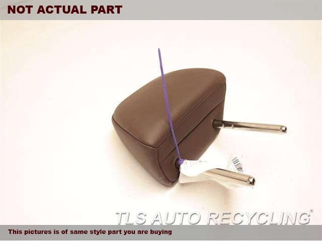 BROWN LEATHER FRONT HEADREST