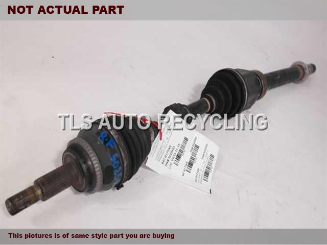 2008 Lexus RX 400 Axle Shaft. RH,3.3L,FRONT AXLE, R.