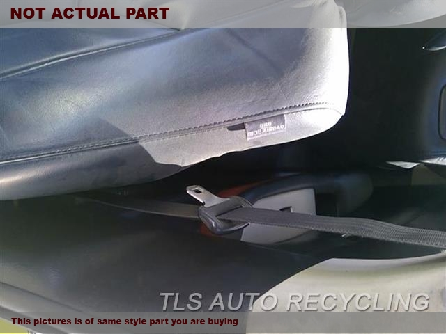 GRAY DRIVER FRONT SEAT BELT