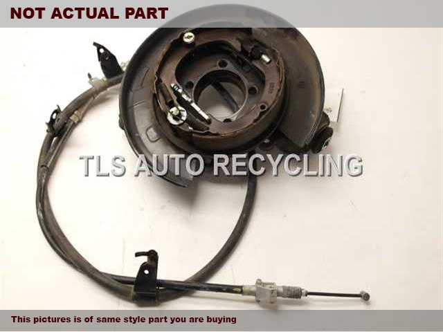 2011 Lexus RX 450H rear nuckle / stub axle. RH