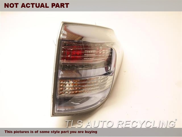 2011 Lexus Rx 450h Tail Lamp  RH,QUARTER PANEL MOUNTED, R.