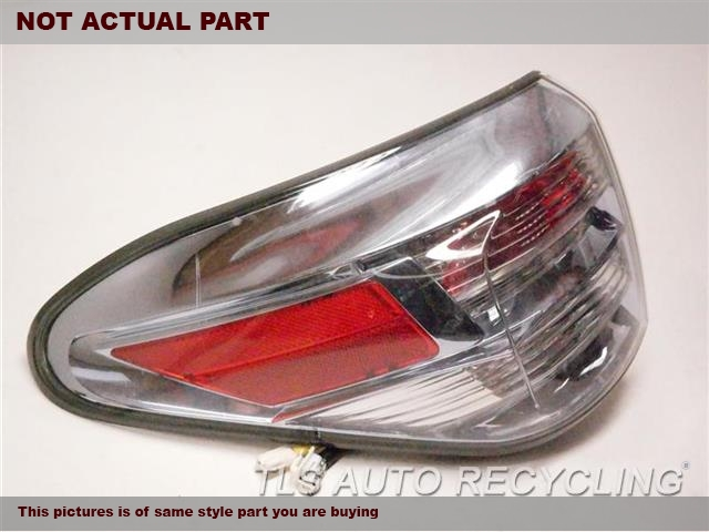 2011 Lexus RX 450H Tail Lamp. LH,QUARTER PANEL MOUNTED, L.