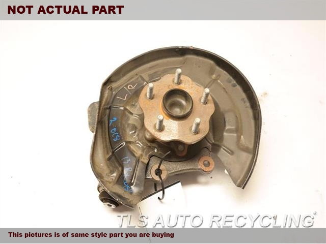 2011 Lexus RX 450H rear nuckle / stub axle. LH