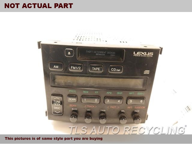 RECEIVER WITH CASSETTE,CHECK BRAND