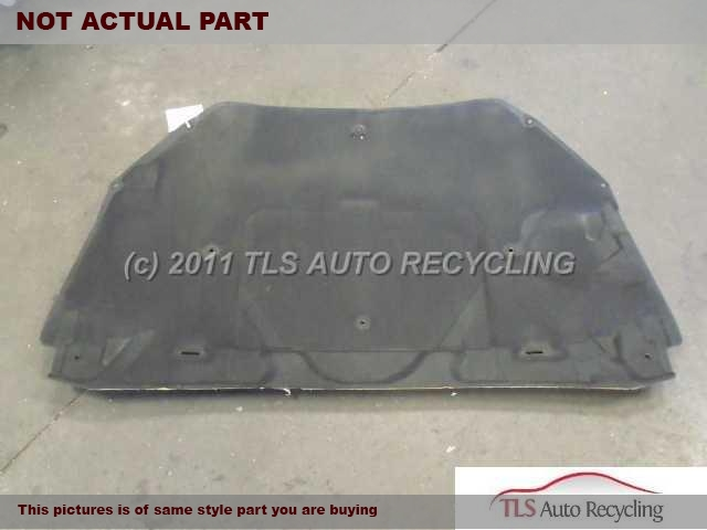 2002 Lexus SC 430 Hood. PAINT CHIP, MINOR SCRATCHES2T2,SLV,HOOD
