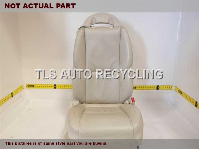 BROWN PASSENGER FRONT LEATHER SEAT