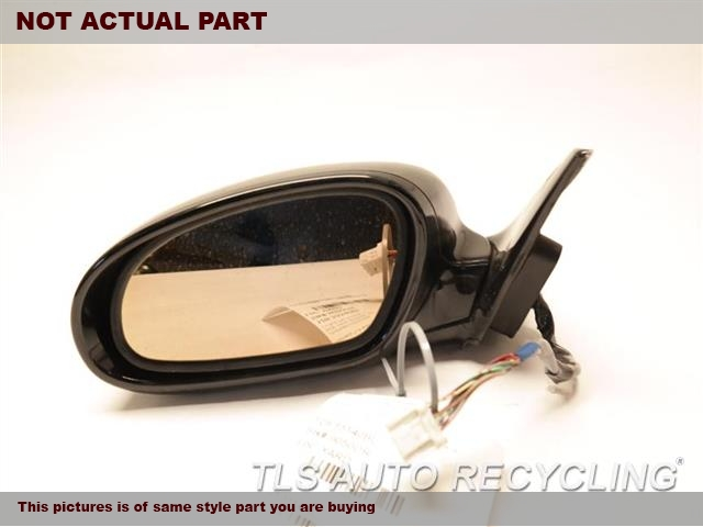 SILVER DRIVER SIDE VIEW MIRROR