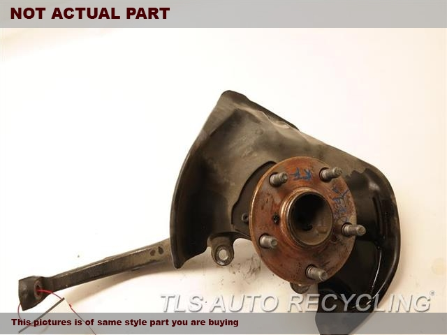 2007 Lexus SC 430 Spindle Knuckle, Fr. 43211-30210 43502-30140PASSENGER FRONT KNUCKLE W/HUB