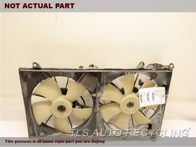 2007 Lexus SC 430 Rad Cond Fan Assy. RADIATOR FAN ASSEMBLY 16711-50160