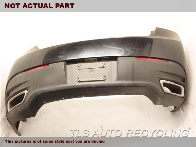 2014 Ford MKZ Bumper cover rear  . LH TAB RIP1J2,RED,PARK ASSIST, W/O AUTOMATIC