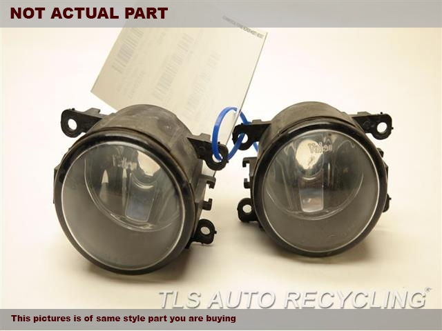 2014 Ford FIESTA Front Lamp. SET OF FOG LAMP 4F9Z15200AA