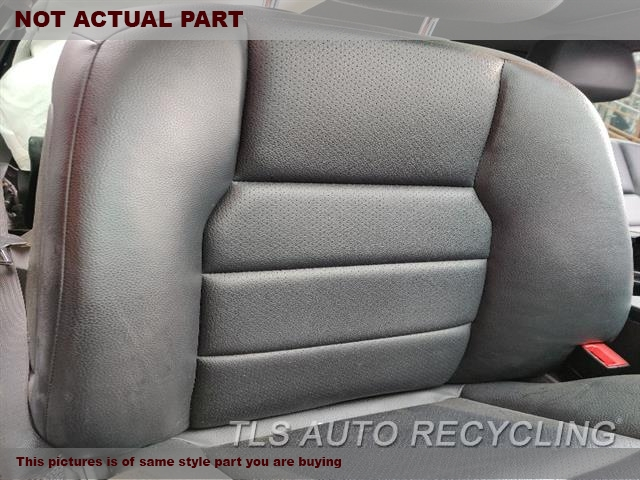 2012 Mercedes C250 Seat, Front. RH,GRY,LEA,204 TYPE, C250, CPE