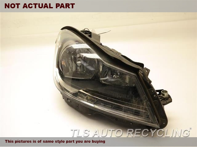 2013 Mercedes C250 Headlamp Assembly. PSSENGER HALOGEN HEADLAMP 2048200039