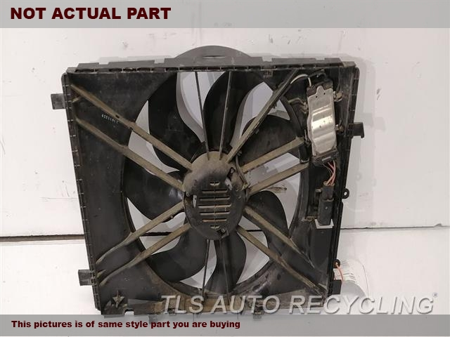 2011 Mercedes Glk350 Rad Cond Fan Assy  204 TYPE, FAN ASSEMBLY, (GLK350)