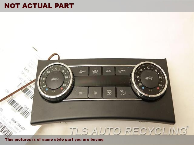 2013 Mercedes C250 Temp Control Unit. TEMPERATURE CONTROLE 2049006808