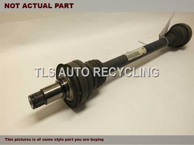 2008 Mercedes C300 Axle Shaft. 204 TYPE, REAR, C300, RWD, AT