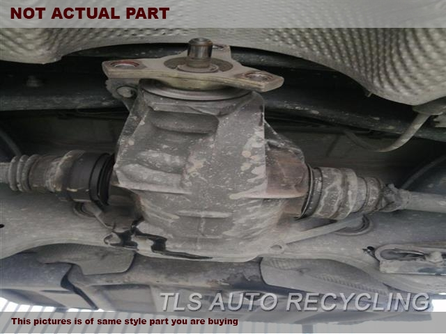 2011 Mercedes C300 Rear Differential  204 TYPE, REAR, C300, RWD, AT