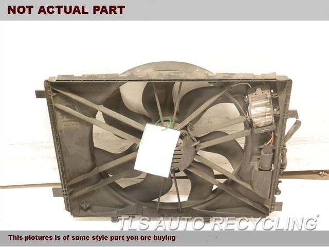 2008 Mercedes C300 Rad Cond Fan Assy. 204 TYPE, FAN ASSEMBLY, C300