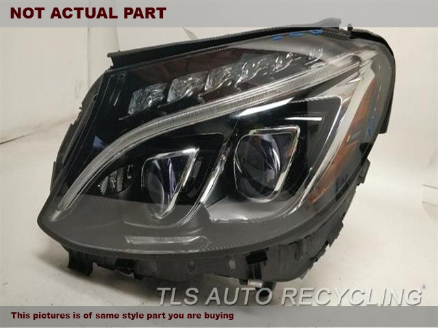 2015 Mercedes C300 Headlamp Assembly  LH,205 TYPE, C300 (SDN)LED