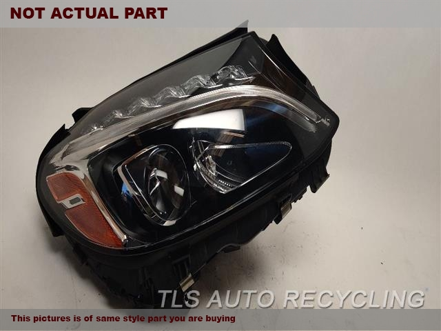 2015 Mercedes C300 Headlamp Assembly  RH,205 TYPE, C300 (SDN)LED