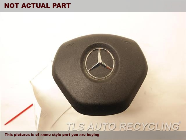 2013 Mercedes C250 Air Bag. 1728602902BLACK STEERING WHEEL AIR BAG