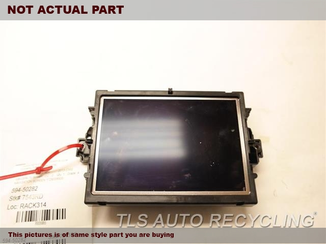 2013 Mercedes C250 Navigation GPS Screen. NAVIGATION SCREEN 2049007508