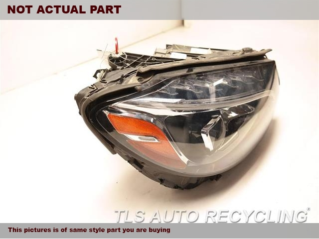 2015 Mercedes C300 Headlamp Assembly. TWO BROKEN TAB,SCRATCHESRH,205 TYPE, C300 ( SDN ), LED, ACT