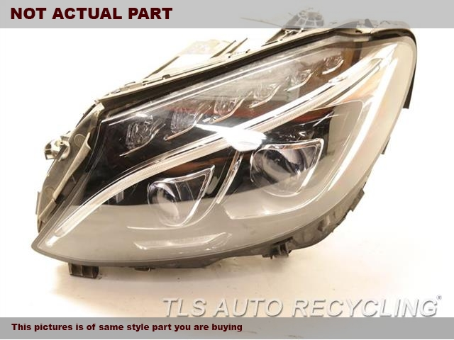 2015 Mercedes C300 Headlamp Assembly. ONE DAMAGE SIDE TABLH,205 TYPE, C300 ( SDN ), LED, ACT