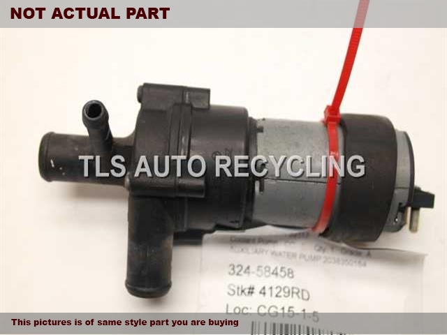 1999 Mercedes CLK430 water pump engine. 4.3L,208 TYPE, CLK430,AUXILIARY