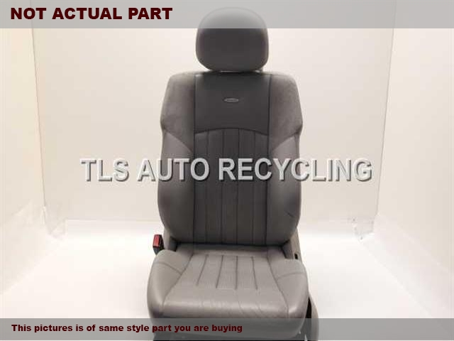 2003 Mercedes C32 Seat, Front. 2039107492 2039106647 2039700880BLACK DRIVER FRONT LEATHER SEAT