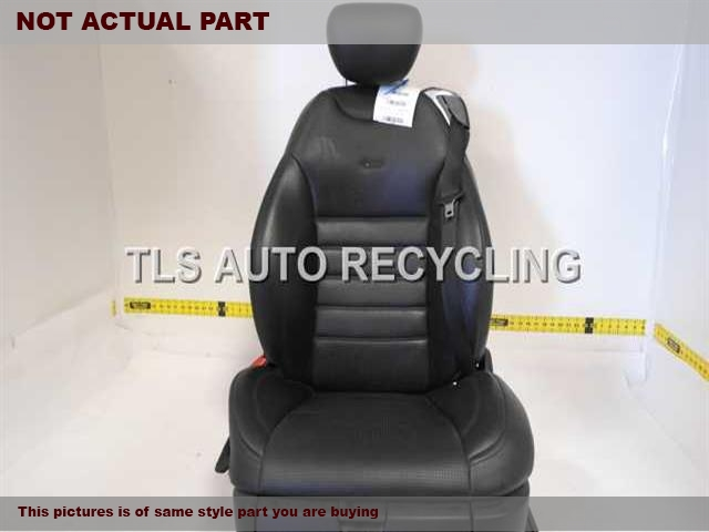 2007 Mercedes CL550 Seat, Front. 2169101946 2169101947 2169700250 2168600585BLACK DRIVER FRONT LEATHER SEAT