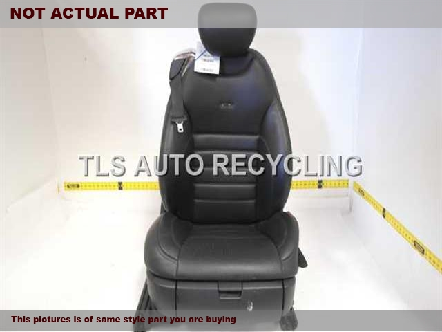 2007 Mercedes CL550 Seat, Front. 2169108701 2169102047 2169700250 2168600485BLACK PASSENGER FRONT LEATHER SEAT