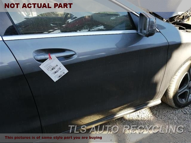 2015 Mercedes CLA250 Door Assembly, Front. BURNED INSIDE 5B3,RH,RED,PW,PL,PM,117 TYPE, CLA25