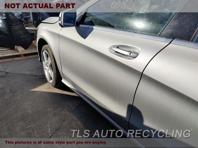 2015 Mercedes CLA250 Door Assembly, Front. BURNED INSIDE 5B3,LH,RED,PW,PL,PM