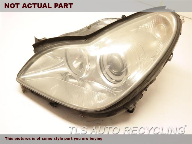 2007 Mercedes CLS550 Headlamp Assembly. BUFFLH,219 TYPE, CLS550, HALOGEN, L.
