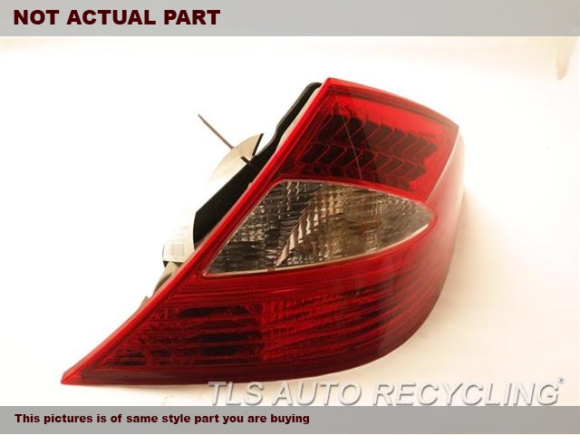 2007 Mercedes CLS550 Tail Lamp. RH,219 TYPE, CLS550, R.