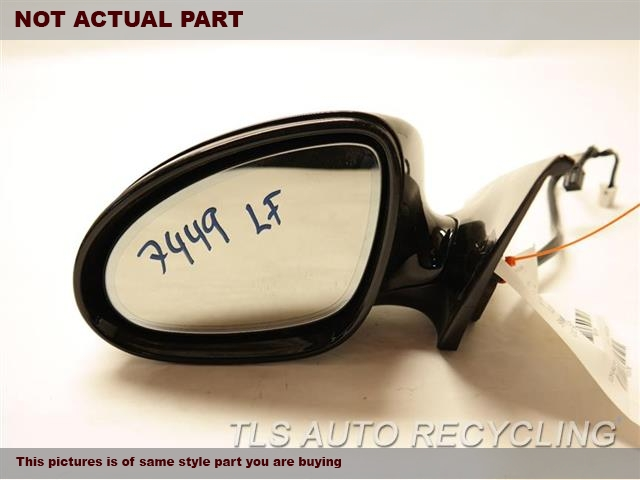 2007 Mercedes CLS550 Side View Mirror. LH,BLK,PM,219 TYPE, POWER, CLS550,
