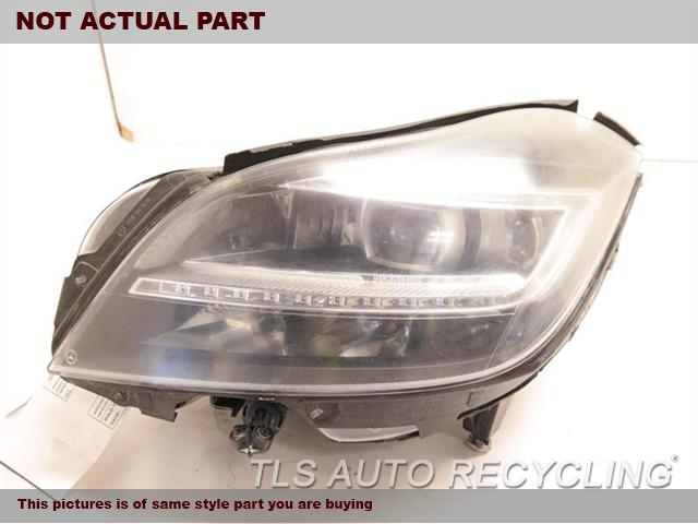 2012 Mercedes CLS550 Headlamp Assembly. LH,218 TYPE, CLS550, LED, W/O NIGHT