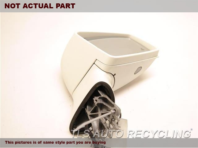 2012 Mercedes CLS550 Side View Mirror. RH,SLV,PM,218 TYPE, POWER, CLS550,