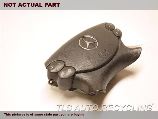 2007 Mercedes CLS550 Air Bag. BLK,FRONT, DRIVER,CHECK ID